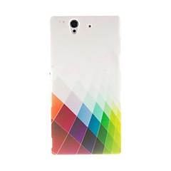 Дело Кинстон Цвет алмазов шаблон пластиковый жесткий для Sony L36h (Xperia Z)