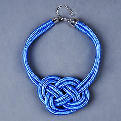 preiswerte Halsketten-z&x® europäischen mehrfarbigen Stoff Chokerhalsketten (mehr Farbe) (1 Stück)