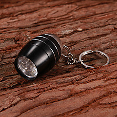 Key Chain Flashlights LED 30 lm 1 Mode - Small Size Super Light Compact Size Multifunction
