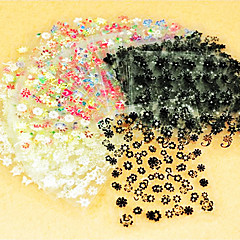 40PCS Mixs Style Flower Type Nail Art Stickers