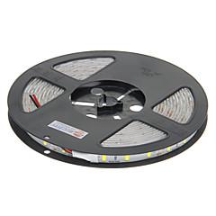 Vanntett 5M 120W 300x5630 SMD kul hvit lys LED Stripe lampe (DC 12V)