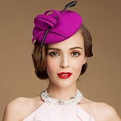 Mujer Lana Celada-Boda Ocasión especial Casual Al Aire Libre Sombreros