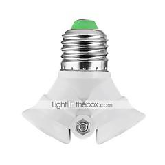 billiga LED-tillbehör-E27 Belysningstillbehör Ljusuttag PBT (polybutylentereftalat)