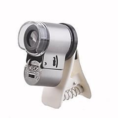 お買い得  Hobbies-65Xは、iPhone / iPadやその他の携帯電話用のヘッドライトとUV光倍率顕微鏡を導いた