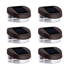 cheap LED & Lighting Accessories-6pcs Night Light / LED Solar Lights Solar Rechargeable / Waterproof