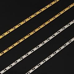 preiswerte Halsketten-Damen Ketten - Platiert, vergoldet Modisch Silber, Golden Modische Halsketten Schmuck Für Hochzeit, Party, Alltag