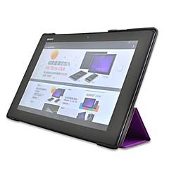 ujo karhu ™ Custer tyyliin seistä fiksu kova kuori nahka suojakotelo Sony Xperia z2 10,1 tuuman Tablet PC