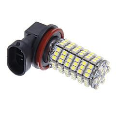 お買い得  自動車用LED電球-H11 120x3528SMD白色光は、ヘッドライトバルブ(12V)用LED