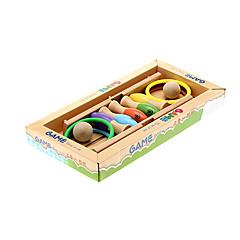 abordables Balones y accesorios-Anillo Pesca Toss Bowling Toy Tres en Uno