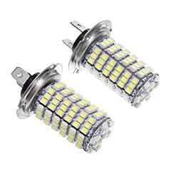 Недорогие Автомобильные фары-H7 Автомобиль Лампы 6W SMD 3528 1200lm Светодиодная лампа Противотуманные фары