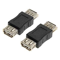 USB 2.0 naaras-naaras adapterit liittimet