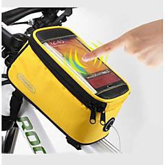 abordables Roswheel-ROSWHEEL Bolso del teléfono celular / Bolsa para Cuadro de Bici 5.5 pulgada Pantalla táctil, Impermeable Ciclismo para Samsung Galaxy S6 / LG G3 / Samsung Galaxy S4 Azul / Negro / iPhone 8/7/6S/6