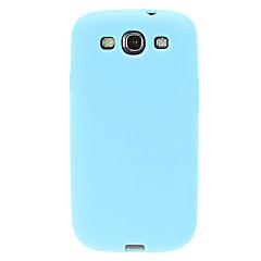 tanie Galaxy S3 Etui / Pokrowce-Kılıf Na Samsung Galaxy Samsung Galaxy Etui Odporne na wstrząsy Etui na tył Solid Color Silikon na S3
