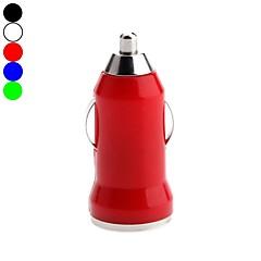 kinston opsommingstekens usb auto-oplader voor Apple / Samsung / Nokia / HTC / sony / LLG mobiel (5v 1a, diverse kleuren)