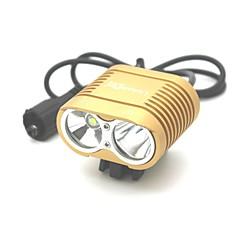 저렴한 -자전거 라이트 LED 3000 루멘 3 모드 Cree XM-L T6 충격 방지 충전식 방수 용 캠핑/등산/동굴탐험 일상용 사이클링 사냥 일 멀티기능 등산 여행 드라이빙