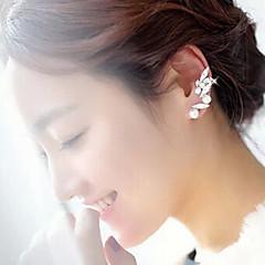 Puños del oído joyería de disfraz Perla Perla Artificial Brillante Legierung Joyas Para Fiesta Diario Casual