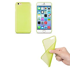 Недорогие Кейсы для iPhone-ультра тонкий матовый мягкий чехол для iphone 6 (сортированный цвет) iphone cases