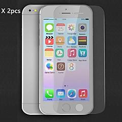 Недорогие Защитные пленки для iPhone 6s / 6-Защитная плёнка для экрана Apple для iPhone 6s Plus iPhone 6 Plus 2 штs Защитная пленка для экрана HD
