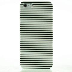 iphone 7 плюс черный& белый полосы шаблон жесткий футляр для iphone 5 / 5s