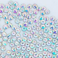 1400pcs 3.0mm decor glitter cristal ab stras unghii