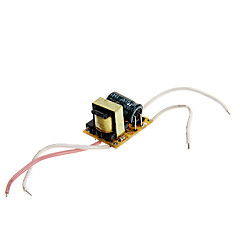 0.3A 1-3*1W DC 3-9V to AC 85-265V Internal Constant Current Power Supply Driver for LED Spot Lights