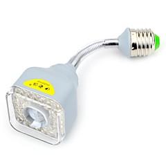 preiswerte LED-Birnen-YouOKLight Geräusch aktiviert/Sensor Spot Lampen E26/E27 5 W 300 LM 6000 K 39 SMD 2835 Kühles Weiß AC 85-265/AC 220-240 V