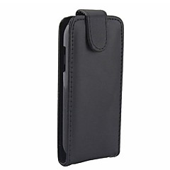 Solid Color Open Up and Down PU Leather Full Body Case for Samsung Galaxy Trend Lite S7390/S7392