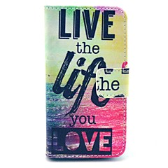Недорогие Кейсы для iPhone 4s / 4-Коко fun® личная жизнь искусственная кожа Полный чехол для тела с защитой экрана, стоять и стилус для iPhone 4 / 4s