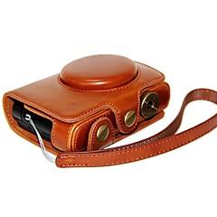 お買い得  ケース、バッグ & ストラップ-ライカcとパナソニックLF1用のハンドストラップでスタイルを充電dengpin®革保護カメラケースバッグカバー