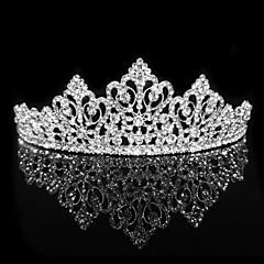 Недорогие Женские украшения-персонализированные волосы кубического циркония обруч свадьбы тиару головной убор