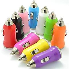 billige -farverig mini usb bil oplader til ipod iphone 8 7 samsung s8 s7 3g 3gs 4 4s 5 5s