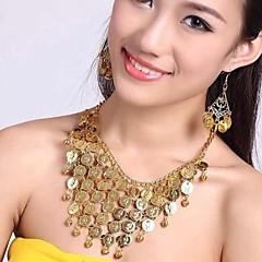 Европа моды многослойная танец живота комплект ювелирных изделий женщин (в том числе ожерелья&серьги)