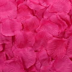花びらテーブルデコレーション(盛り合わせ色)(100花びらのセット)をバラ