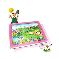 mutlu çiftlik tablet makine eğitim oyuncaklar öğrenme (ramdom renkli)