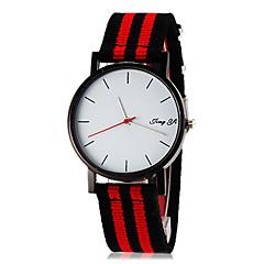 お買い得  大特価腕時計-男性用 リストウォッチ クォーツ ホット販売 生地 バンド ミニマリスト 多色
