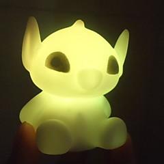 preiswerte Ausgefallene LED-Beleuchtung-1pc LED-Nachtlicht Batterie Wasserfest