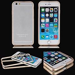 Voor iPhone 6 hoesje / iPhone 6 Plus hoesje Beplating / Transparant hoesje Bumper hoesje Effen kleur Hard MetaaliPhone 6s Plus/6 Plus /