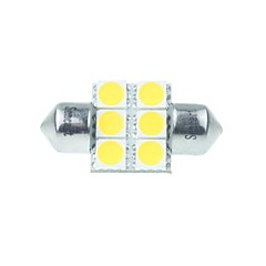 cheap LED Car Bulbs-Festoon Car Warm White 3W SMD LED High Performance LED 3000-3500 Side Marker Light Door lamp Reading Light License Plate LightSpotlight