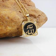 Золотой Ожерелья с подвесками Свадьба / Для вечеринок / Повседневные / Спорт Бижутерия