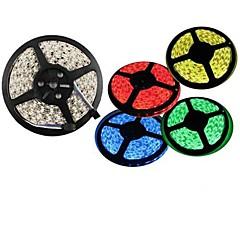 preiswerte LED Lichtstreifen-5m 300x5050 SMD warmweiß, rot, grün, blau, gelb LED-Streifen (12 V DC)