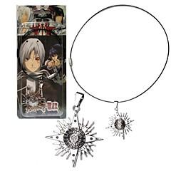 tanie -Biżuteria Zainspirowany przez Reborn! Cosplay Anime Akcesoria do Cosplay Naszyjniki Srebrny Slitina Męskie