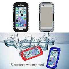 IP68 vesitiivis suojaava muovi ja silikoni kotelo iPhone 6