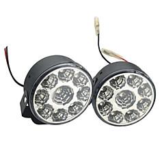 お買い得  LED 電球-2pcs 車載 電球 4W SMD LED 9 昼間走行灯