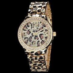 Mujer Reloj de Moda Cuarzo Aleación Banda Leopardo Dorado Oro Rosa Dorado Oro Rosa