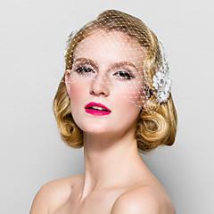 Femei Material Textil Diadema-Nuntă Ocazie specială Voaluri Plasă