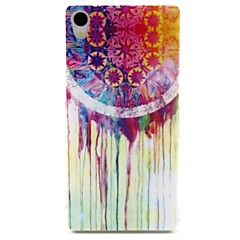 campanula patroon TPU zachte hoes voor Sony Xperia Z3 hoesjes / covers voor Sony