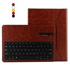 お買い得  Galaxy Tab 4 10.1 ケース / カバー-用途 Samsung Galaxy ケース ケース カバー スタンド付き キーボード付き フリップ フルボディー ケース 純色 PUレザー のために Samsung Tab 4 10.1