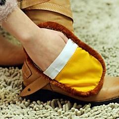 abordables Limpieza para la Cocina-zapato multifunción suave limpiador de lana de imitación (color al azar)