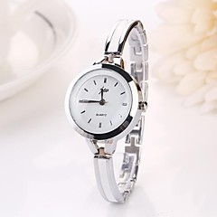 cheap Watch Deals-Women's Quartz Wrist Watch Casual Watch Alloy Band Charm Fashion Silver