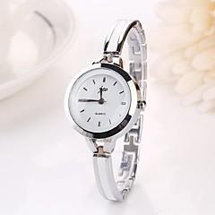 preiswerte Damenuhren-Damen Armbanduhr Armbanduhren für den Alltag Legierung Band Charme / Modisch Silber